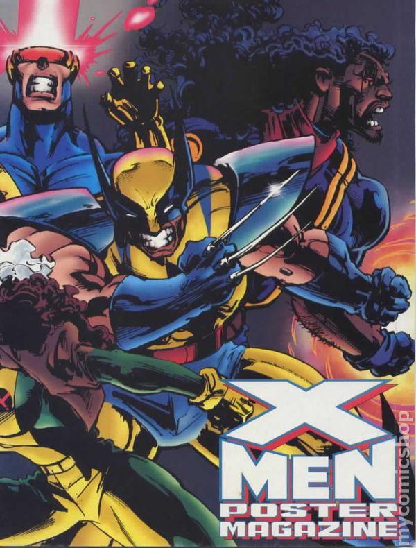 X-Men Poster Magazine (1992) comic books