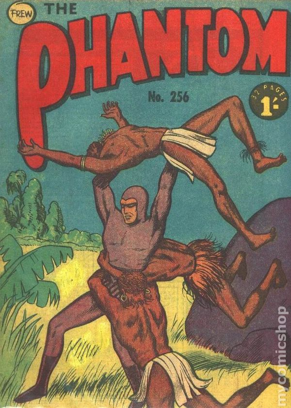 Australian Frew Phantom Comics lot x 3 1143 1146 1132