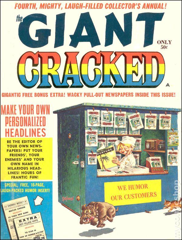 Cracked Giant (1965) comic books