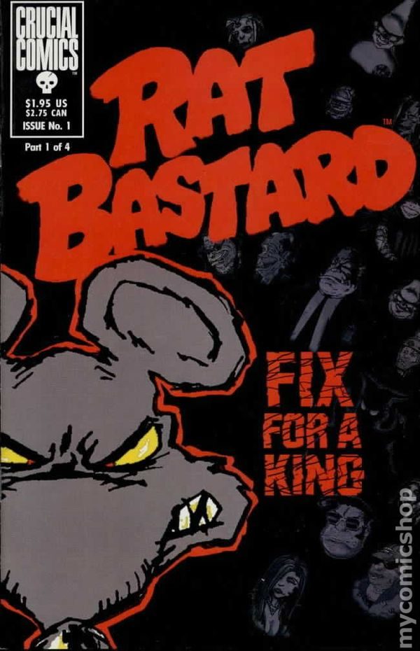 rat bastard 1997 comic books