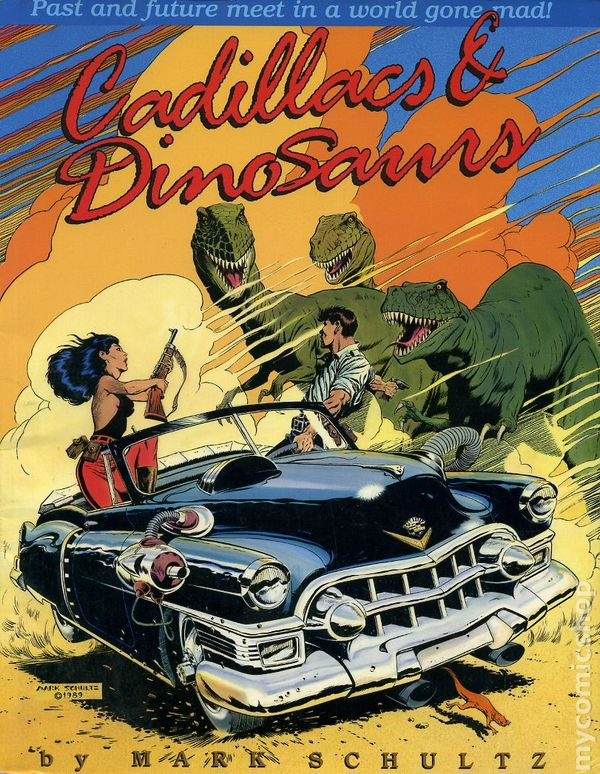 Cadillacs and Dinosaurs GN (1989 Kitchen Sink) comic books