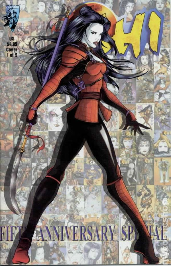 Shi Five Year Anniversary Special 1999 Comic Books
