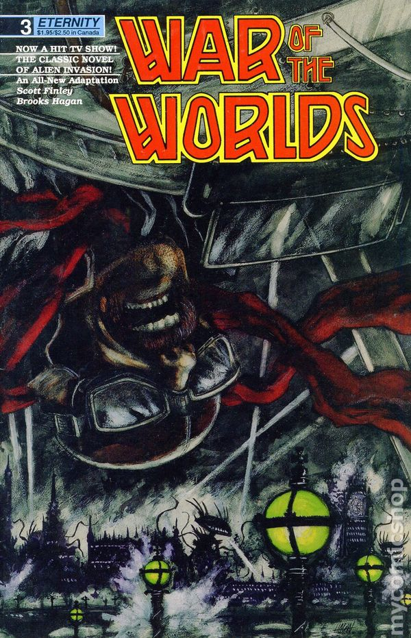 War of the Worlds (1988 Eternity) comic books