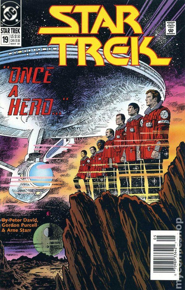 1989 DC Comics Star Trek TOS Original Series The Sentence #2 Spock Captain Kirk