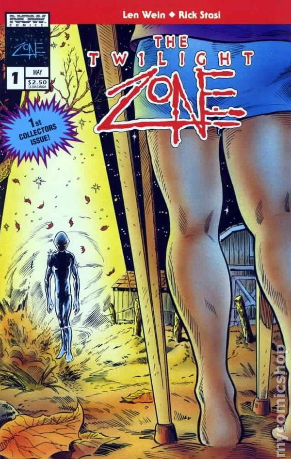 Book Cover Series Zone : Twilight zone th series now comic books