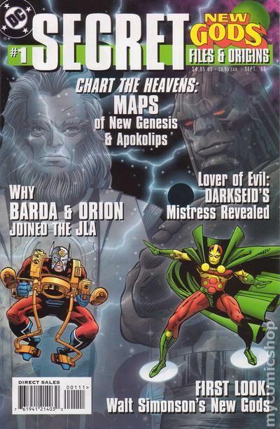 New Gods comic books issue 1