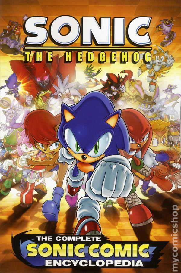 Sonic the hedgehog comic books issue 1 sonic the hedgehog the complete sonic comic encyclopedia tpb 2012 archie 1 1st altavistaventures Images