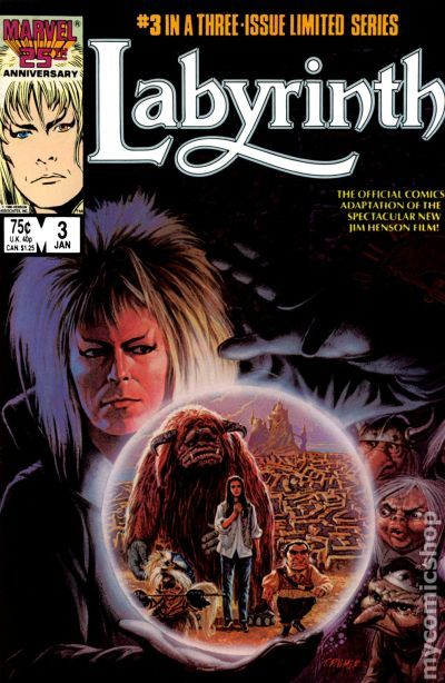 Labyrinth (1986) comic books Labyrinth 1986