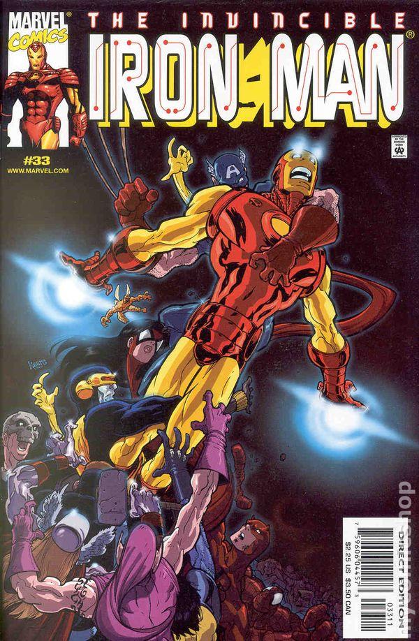 9.2 #14 #359 March 1999 Marvel NM Iron Man 1998 Series
