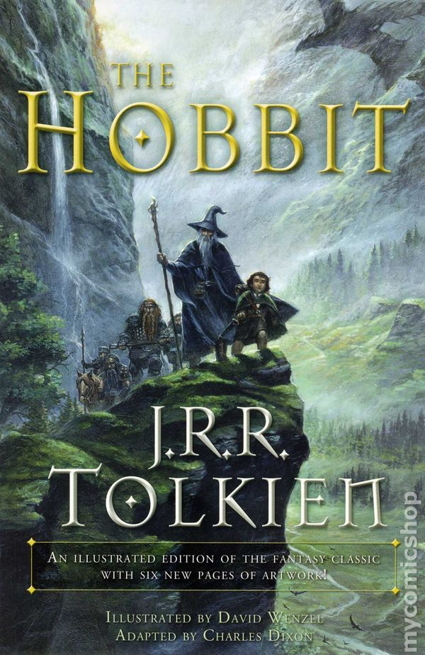 a review of jrr tolkiens book the hobbit Jrr tolkien's the hobbit cannot be considered simply a rollicking story of fantasy though the.