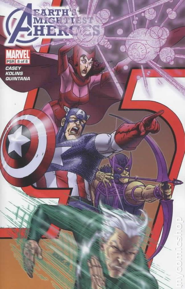 Avengers Earthu0027s Mightiest Heroes (2005 1st Series) 8