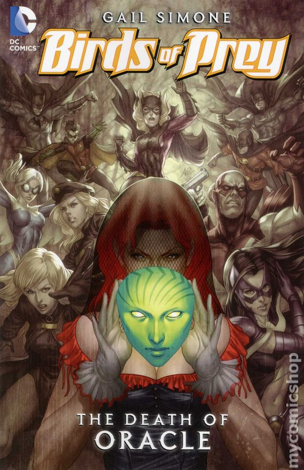Oracle The Cure TPB (2010 DC) comic books