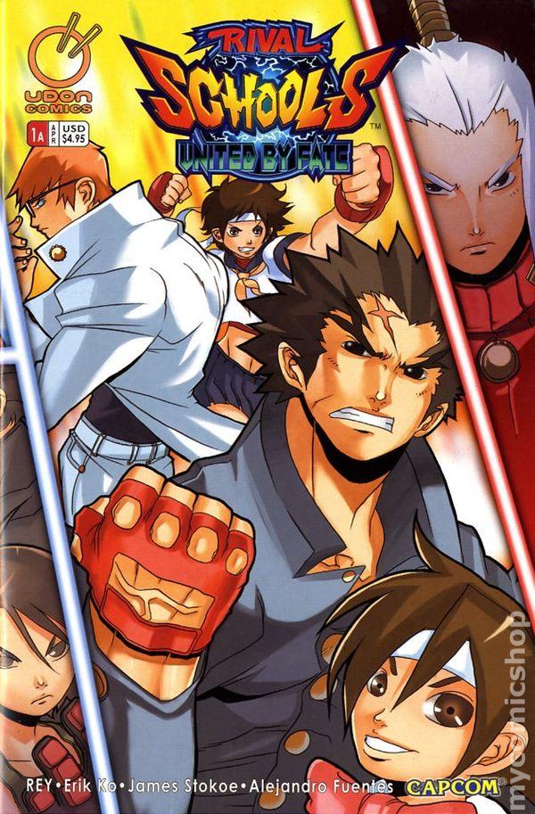 Rival Schools (2006) comic books