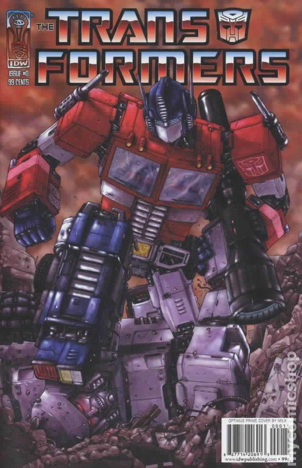 List Of Transformers >> Transformers (2005 IDW) comic books