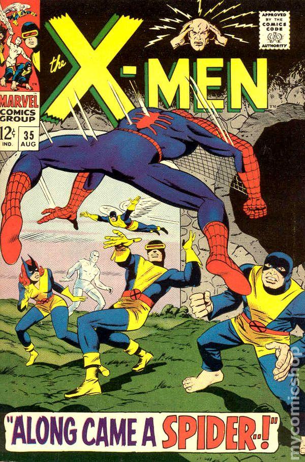 X Men Comic Books Issue 35