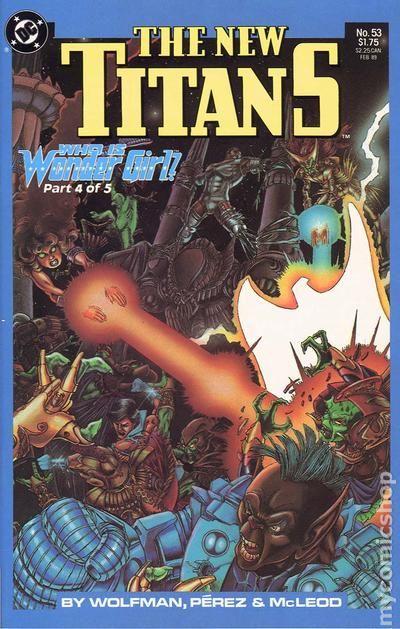 New Teen Titans 1984 2Nd Series New Titans Comic Books-6584