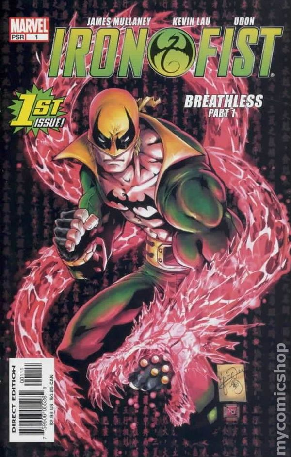 Something is. book of iron fist sorry, that