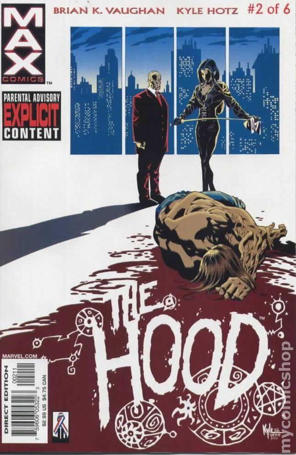 Hood 2002 Marvel 2 Comic books August