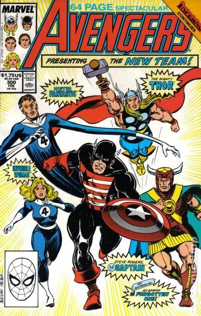 Inferno crossover Avengers #298 Marvel Comics 1963 Series 9.2 Near Mint