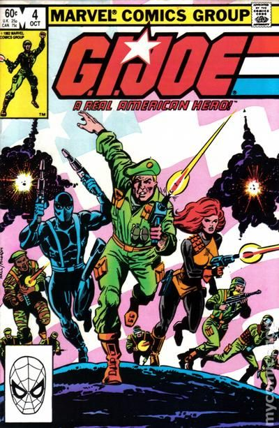 Condition First App Kwinn Collectibles Special Section Gi Joe #2 Marvel Comics 1982 **second Printing** Vf