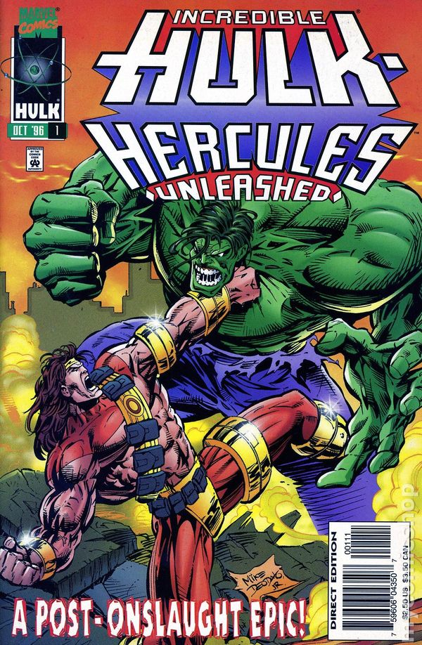 incredible hulk hercules unleashed 1996 comic books