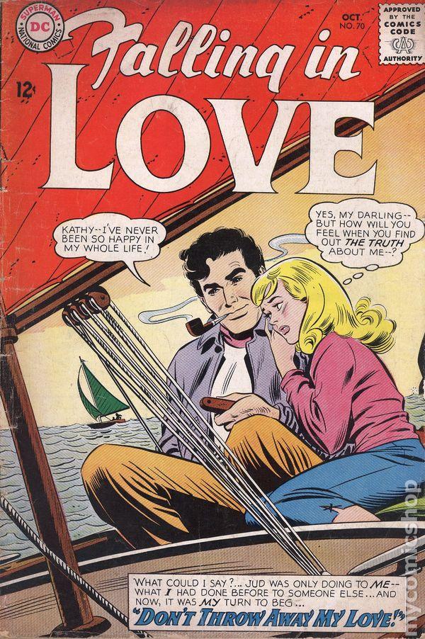 Falling in Love (1955) comic books