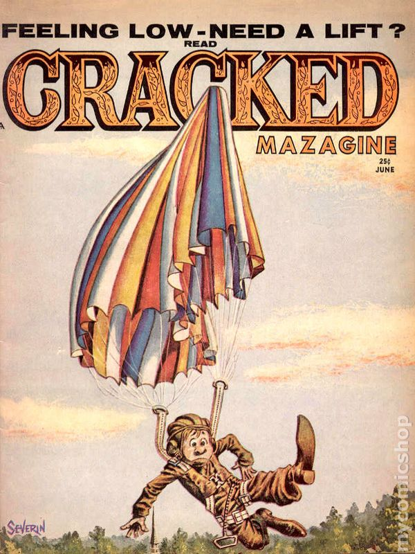 Collectibles Bronze Age (1970-83) Reasonable Cracked Biggest Greatest #16 1981 Extras All Inside Severin Electronic Game***