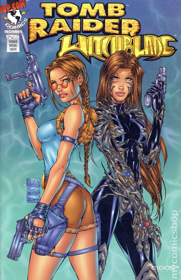 tomb raider witchblade comics download