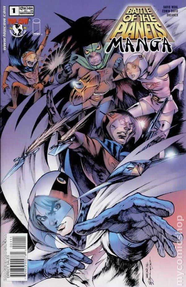 Battle of the Planets Manga (2003) comic books