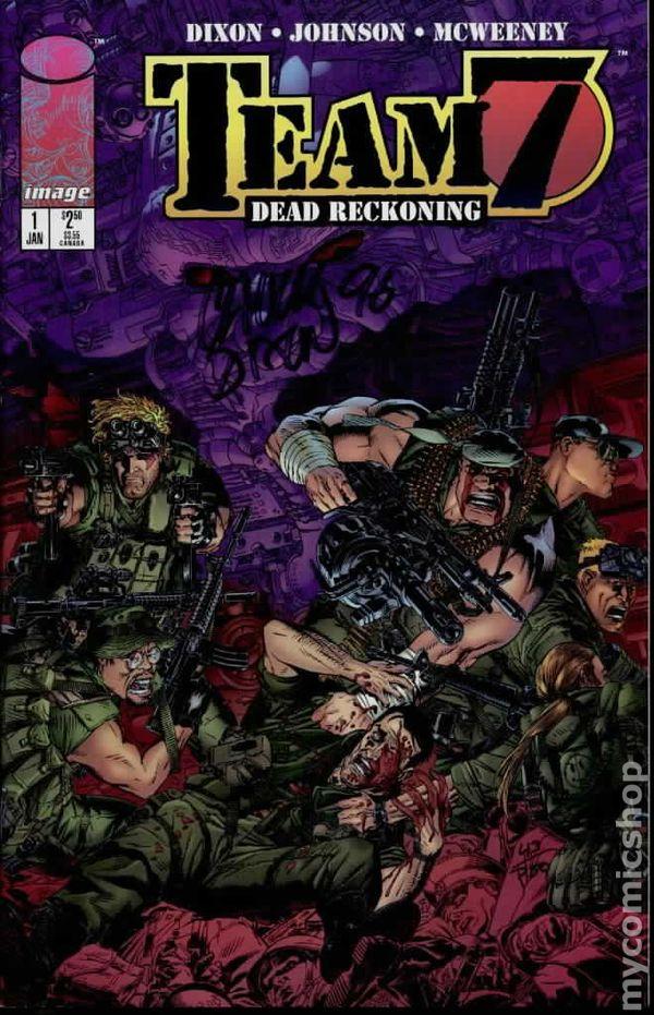 Team 7 1996 Chuck Dixon /& Jason Johnson Dead Reckoning No.1-4