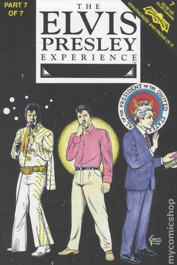 Elvis Presley Experience 1st Printing #7
