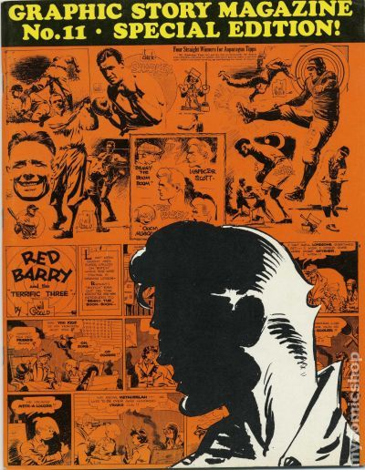 Graphic Story Magazine (1970) Comic Books
