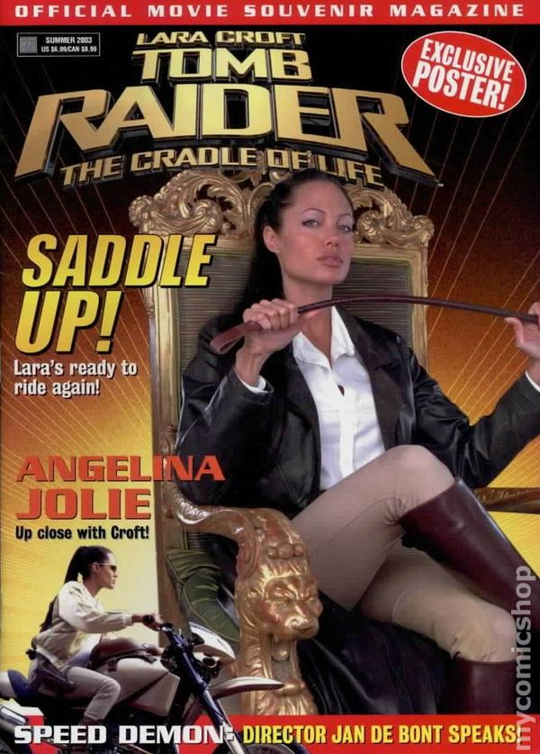Tomb Raider The Cradle Of Life Official Magazine 2003 Comic Books
