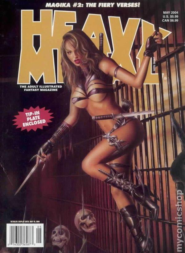 Heavy metal magazine toon adult website