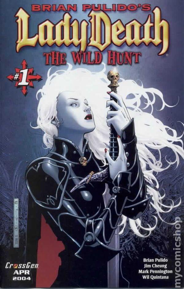 Lady Death Wild Hunt 2004 Comic Books