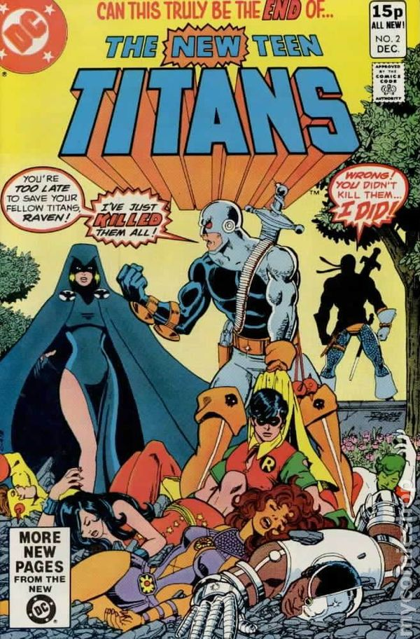 Teen titans comic book opinion you