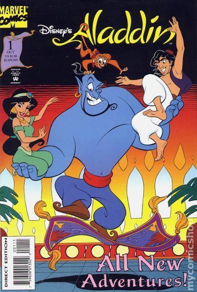 Aladdin 1994 Comic Books