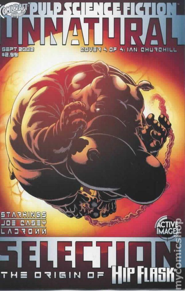 Hip Flask Unnatural Selection 2002 Comic Books