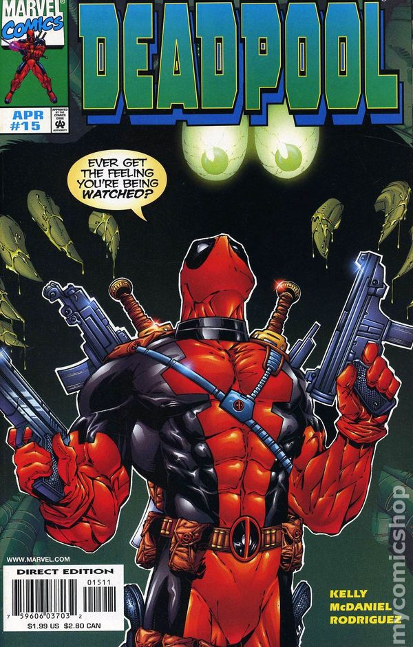 Deadpool 1997 1st series comic books for Dead pool show in jaipur