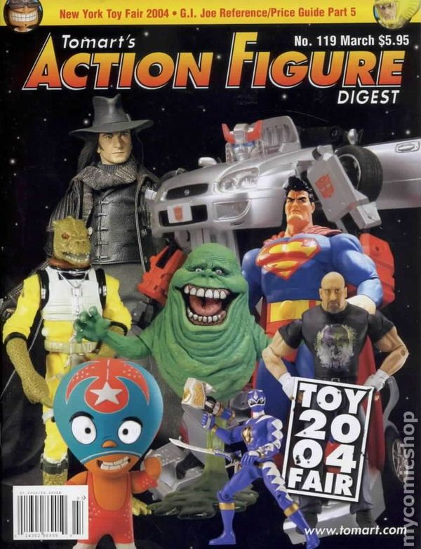 Mego toys & action figures.