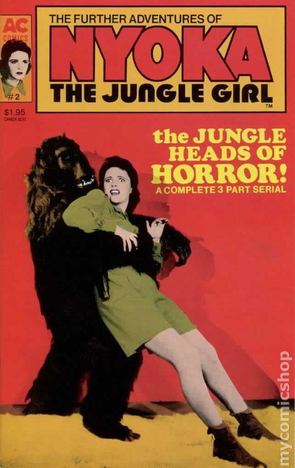 Further Adventures of Nyoka The Jungle Girl #4 FN 1989 Stock Image