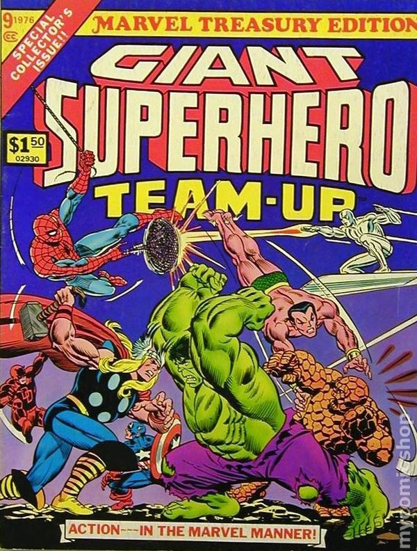 Marvel treasury edition (1974) | comic books | comics | marvel. Com.
