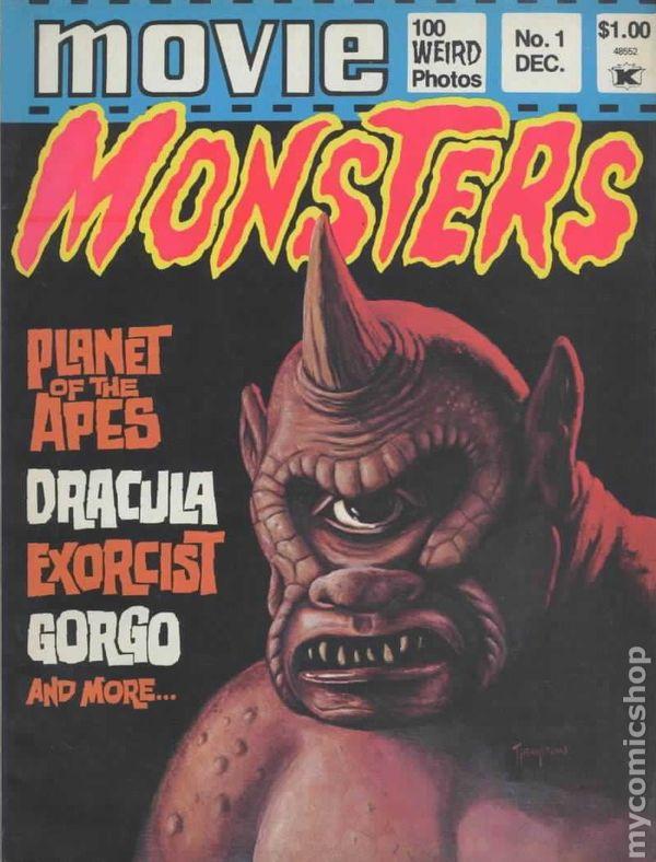 Movie Monsters 1974 Comic Books