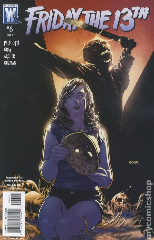 Friday The 13th 2006 Dc Wildstorm Comic Books