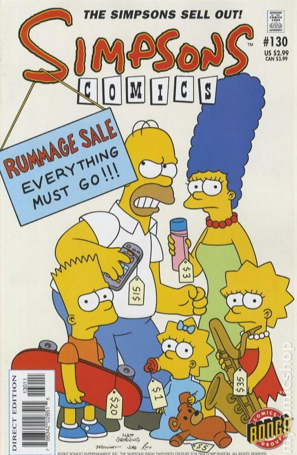 1st SERIES 1993 SIMPSONS COMICS #120  NEAR MINT