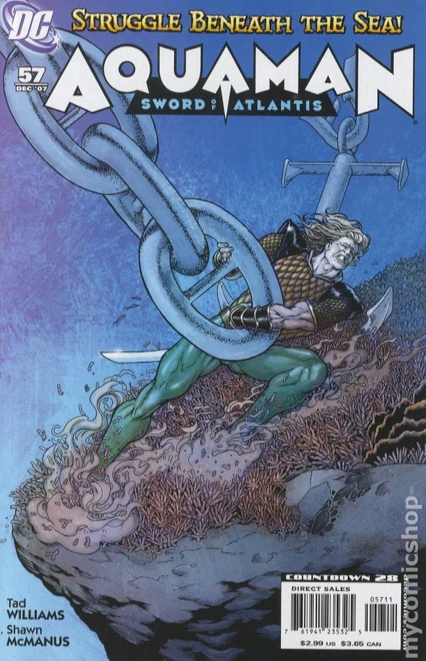 Details about  /DC Comics Aquaman Sword of Atlantis NM-//M 2006