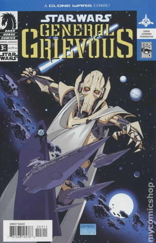 Star Wars General Grievous 2005 Comic Books
