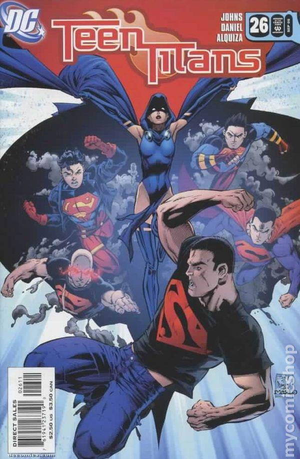 Teen Titans 2003-2011 3Rd Series Comic Books-8516