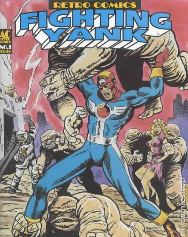 Image result for the fighting yank ac comics