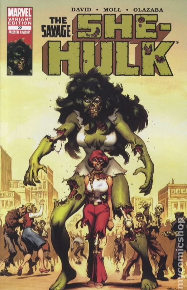 Comic Books In Zombie Variant